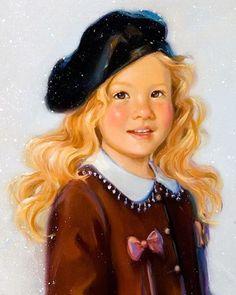 Portraits d'enfants en peintures