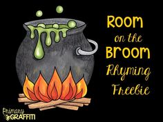 http://www.teacherspayteachers.com/Product/Room-on-the-Broom-Rhyming-Freebie-1483275