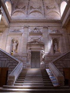 BORDEAUX (Gironde), Grand Théâtre - l'escalier