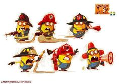 LOL Gotta love those Minions...Especially the Firefighter ones!