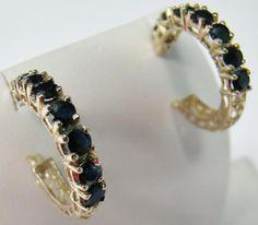 Sapphire Jewelry, Gold Earrings, Royal Engagement Rings, Crown Jewels, Rainbow Colors, Birthstones, Gemstones, Diamond, Blue
