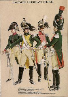 MINIATURAS MILITARES POR ALFONS CÀNOVAS: LOS DRAGONES de 1804, = Fuente, Michel PETARD.
