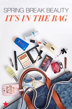 Spring break, here we come! But first, time to pack our bags with all our favorite beauty essentials like eye and contour palettes, travel fragrances and, of course, sunscreen. Click to shop all the essentials at Macy's.