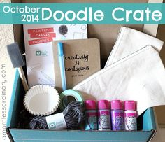 Diy monthly craft box – DIY in 2020 Teen Boxing, Kiwi Crate, Monthly Subscription Boxes, Surprise Box, Craft Box, Crafts For Girls, Box Art, Crates, Doodles