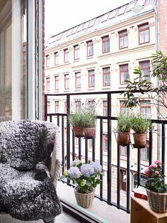 Balkon in der Stadt