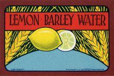 Lemon Barley Water by adambangor, via Flickr
