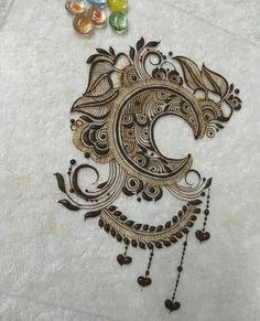 Henna Tattoo Designs Arm, Floral Henna Designs, Mehndi Designs Book, Unique Mehndi Designs, Beautiful Mehndi Design, Mehndi Designs For Hands, Bridal Mehndi Designs, Mehandi Henna, Mehendi