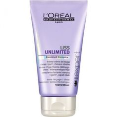Expert Liss Unlimited Smoothing Cream by L´Oréal Professionnel for Women Cosmetics 150ml