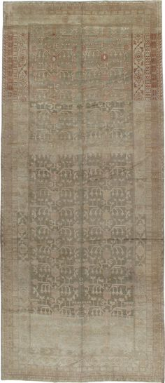 Antique Khotan Gallery Carpet #16928 - from Galerie Shabab #homedecor