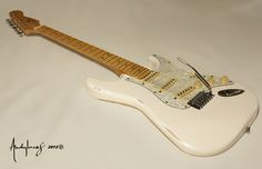Andylucas stratocaster made in FR, reliced