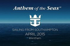 There are 8 Anthem of the Seas itineraries set for 2015.