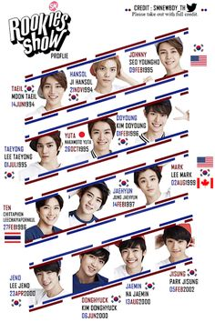 SMROOKIES BIRTHDATE!!! #SMROOKIES credit : SMNEWBOY_TH