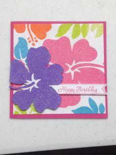 birthday (napkin card)