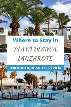Lanzarote in the Canary Islands is the perfect destination all year-round. Playa Blanca is a great resort town for relaxation and adventure. Read my review to see if H10 boutique suites is the perfect place to stay!  #PlayaBlanca #Lanzarote #LanzaroteTravel #CanaryIslands #CanaryIslandsTravel #HotelReview #WhereToStay #TheFearlessForeigner Travel Reviews, Travel Articles, Europe Travel Tips, Spain Travel, European Travel, Travel Destinations, Africa Travel, Amazing Destinations, Travel Guides