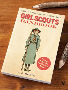 The Very First Girl Scouts Handbook, Filled With the Basics of Scouting and Timeless Life Skills Girl Scouts Of America, Miss America, Girl Scout Cookies, It Goes On, Girl Guides, Memory Books, First Girl, Classic Books, Vintage Girls