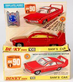 Dinky Toys 108 Sam's Car