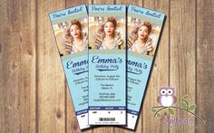 Beyonce Event Ticket Birthday Invitation  by AndreasPartyDesigns, $6.99
