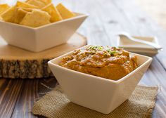 Curry Pumpkin Dip warmly spiced with garlic, ginger and allspice. Take this to your next fall gathering! | Kitchen Gidget