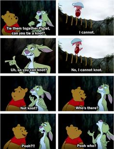 and this is why I love Winnie the Pooh...