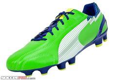 Puma evoSPEED 1 K FG Soccer Cleat - Jasmine Green with White... 199.99 12f50435f632e