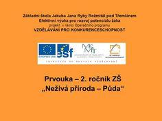 """Prvouka – 2. ročník ZŠ """"Neživá příroda – Půda""""> Software"""
