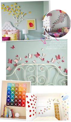 Dando um up na decoração usando apenas cartolina