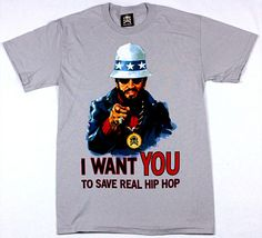 Exact Science - I Want You tee featuring the legend DJ Kool Herc