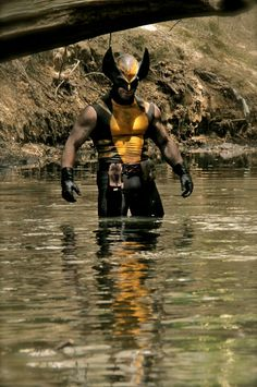 Wolverine cosplay from Wolverine vs Predator