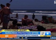 Sunscreen may not be giving you the protection it claims