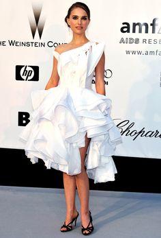 Riccardo Tisci's Most Memorable Givenchy Gowns - Natalie Portman, Cannes 2008