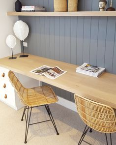 Scandinavian home office design with look simplicity elegance 42 Office Nook, Home Office Space, Home Office Design, Home Office Decor, House Design, Home Decor, Office Ideas, Small Office, Office Setup