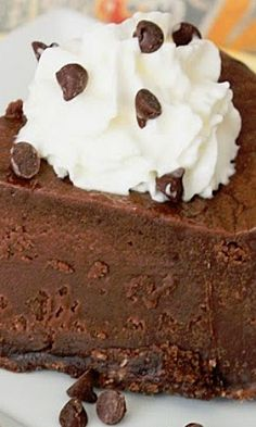 Brownie Batter Cheesecake