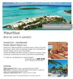 Recomandarea noastra: MAURITIUS - Preskil Beach Resort - reduceri si nopti gratuite!