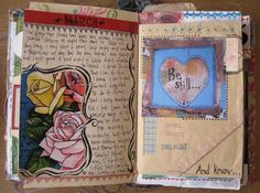love looking at beautiful journal pages..they always inspire and motivate me to continue working on my own