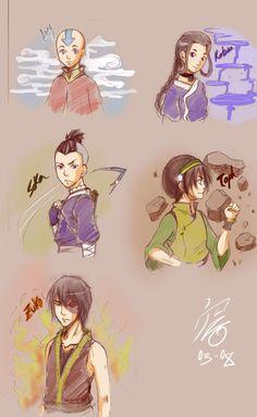 Avatar sketch by SoRa-KuRisU