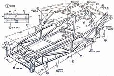 how to make a buggy frame Buggy Vw, Go Kart Buggy, Off Road Buggy, Kit Cars, Carros Turbo, Kart Cross, Go Kart Frame, Homemade Go Kart, Go Kart Plans