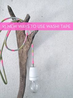 10 Clever New Uses For Washi Tape