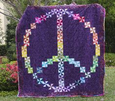 Here Grammy this is the Peace quilt I want for Christmas.