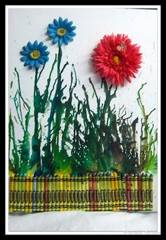 Crayon Craft I cant wait to do this