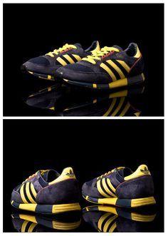 adidas Originals Boston Super: Dark Navy/Yellow
