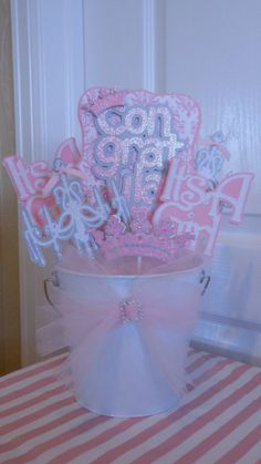 Pink Princess Baby Shower Party Package by ASweetCelebration, $199.00