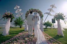 Plan the Wedding of Your Dreams, Free of Stress & Guaranteed to Leave You With ONLY Great Memories With This Proven Blueprint. You're about to discover how to organise a wedding day fit for a princess, in just 40 days! Wedding Set Up, Bali Wedding, Casual Wedding, Chic Wedding, Wedding Ceremony, Wedding Venues, Dream Wedding, Wedding Destinations, Destination Weddings