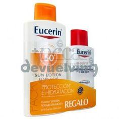 OFERTA DEL MES!! EUCERIN SUN LOCION LIGERA SPF50 + REGALO  Precio eynmarket.com:   16,90€  Precio en tienda :31,91 €
