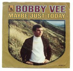 1968 Bobby Vee Maybe Just Today Picture Sleeve NO RECORD 45 RPM Liberty 56014