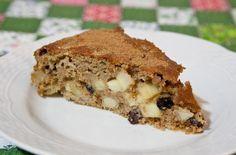 Bolo integral de maçã e banana - Michelle Franzoni - Blog da Mimis - Qualidade de vida e bem-estar