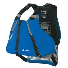 Onyx MoveVent Curve Paddle Sports Life Vest - XS/S - Blue