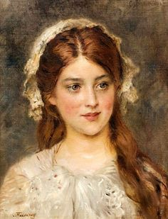 Portrait of a Young Girl. PDF pattern - çizimler Portrait of a Young Girl – Counted cross stitch pattern in PDF format by Maxispatterns on Etsy - Old Paintings, Beautiful Paintings, Woman Painting, Painting & Drawing, L'art Du Portrait, Renaissance Kunst, Classical Art, Russian Art, Russian Culture