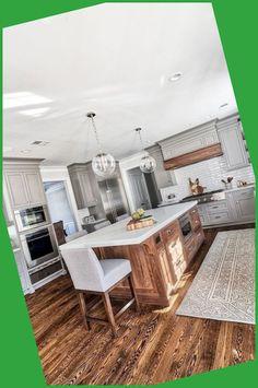 Kitchen Remodeling - Six Ways to Revolutionize Your Kitchen #Wood #Floor #Ideas #Beautify #Kitchen #Room...