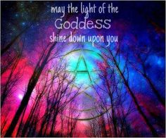 May the light of your goddess