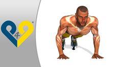 Como hacer flexiones, ejercicios FLEXIONES, flexiones pectorales - manos amplitud tórax - http://dietasparabajardepesos.com/blog/como-hacer-flexiones-ejercicios-flexiones-flexiones-pectorales-manos-amplitud-torax/